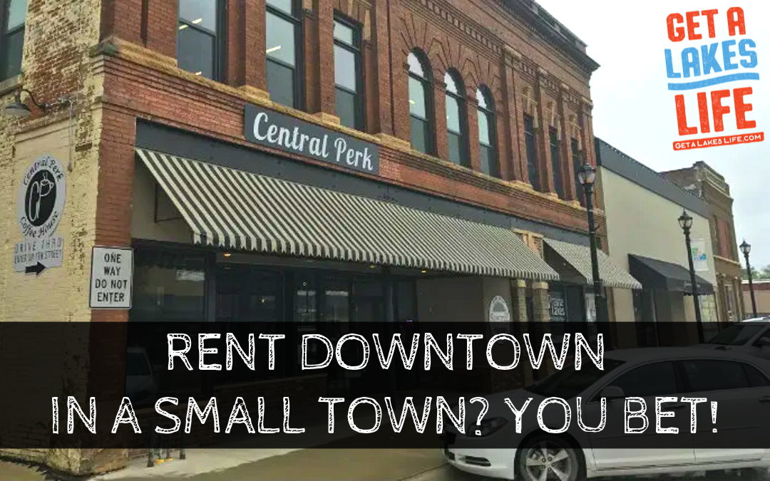 Here are the benefits of living downtown or on Main Street in a small town